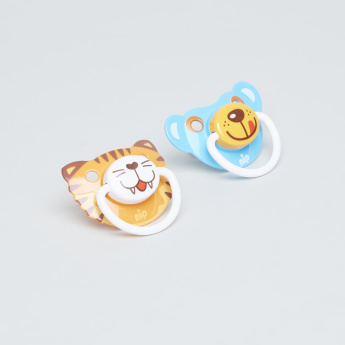 Nip Funny Animals Soother  - Set of 2