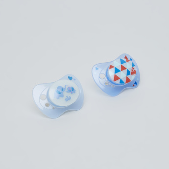nip Printed Size 1 Soother - Set of 2