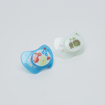 nip Printed Size 3 Night Soother - Set of 2