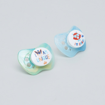 nip Printed Size 2 Soother - Set of 2