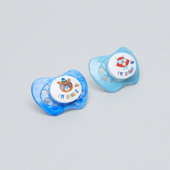 nip Unique Size 2 Soother - Set of 2