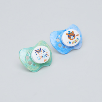 nip Printed Size 3 Pacifier - Set of 2