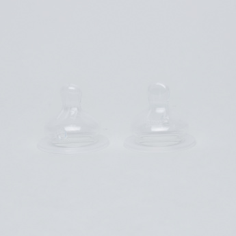 nip Wide Neck Teat - Set of 2