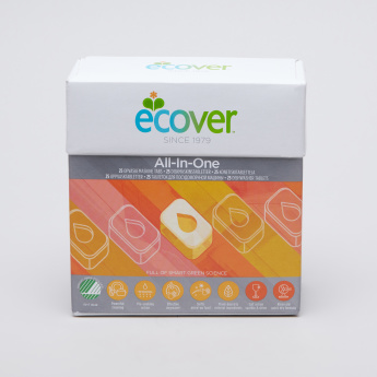 Ecover Organic Dishwasher Tablet - 25 Pieces