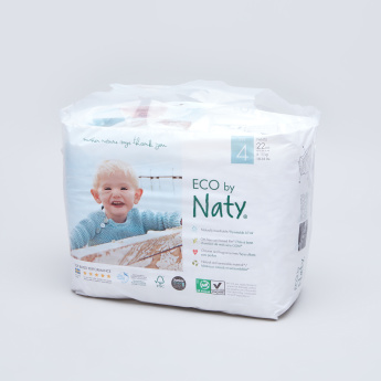Naty ECO Maxi+ Size 4 Pull-On Pants Diapers - 22 Piece