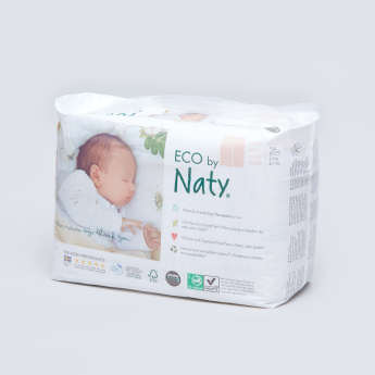 Naty ECO Size 1 Diapers - 26 Pieces