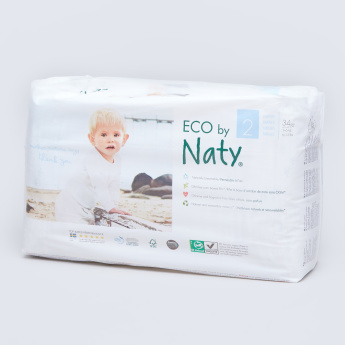 Naty ECO Size 2 Diapers - 34 Pieces