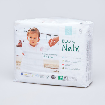 Naty ECO Size 3 Diapers - 31 Pieces