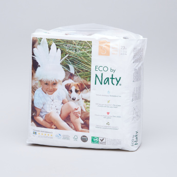 Naty ECO Size 5 Diapers - 23 Pieces