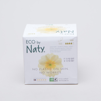 Naty Thin Super Sanitary Pad - 13 Pieces