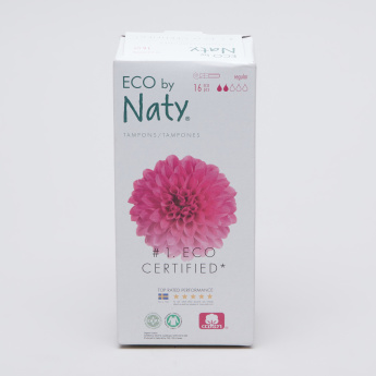 Naty Regular Tampons - 16 Pieces