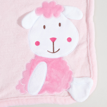 Juniors 3D Sheep Applique Detail Blanket - 76x102 cms