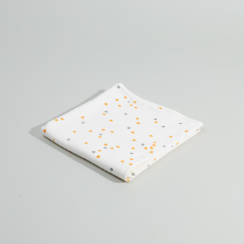 Juniors Shapes Printed Receiving Blanket - 76x76 cms