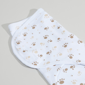 Juniors Printed Cotton Swaddle Wrap