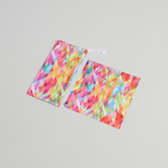 Juniors Printed Pouch with Cleaning Cloth for Spectacles