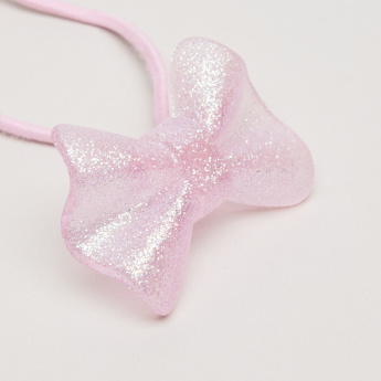 Charmz Bow Embellished Hair Tie