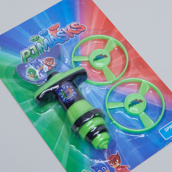 PJ Masks Printed Spinning Top Playset