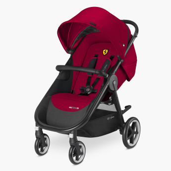 Ferrari Agis Baby Stroller with Safety Harness Points