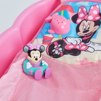 Minnie Mouse Printed Shell Tub with Toys