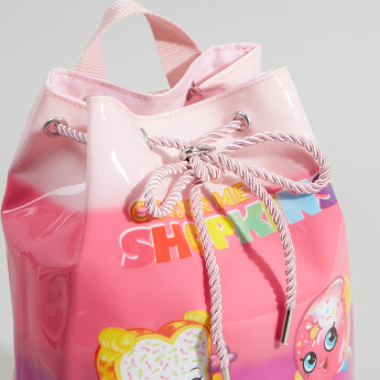 Shopkins Backpack with Drawstring Closure