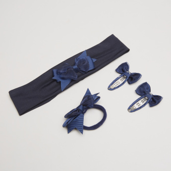 Charmz 4-Piece Embellished Hair Accessories Set