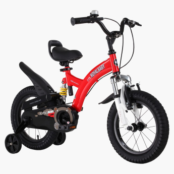 Royal Baby Flying Bear Bicycle with Training Wheels - 12 inches