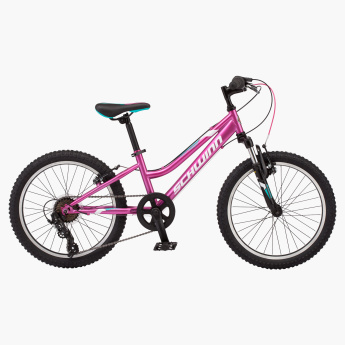 0406dca363d Schwinn High Timber MTB Bicycle with 7-Speed Gear - 20 inches | Pink |  7-speed Shimano twist shifters with Shimano rear derailleur for quick gear  changes on ...