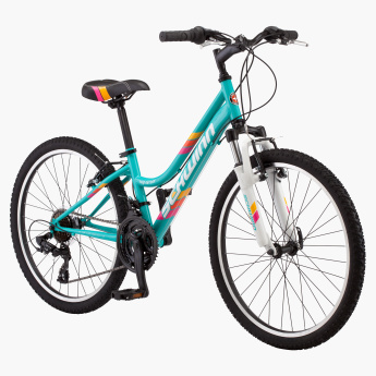 Schwinn High Timber MTB Bicycle with All-Terrain Tires - 24 inches