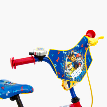 SPARTAN PAW Patrol Printed Bicycle with Adjustable Seat - 12 inches