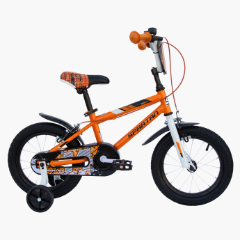 SPARTAN BMX Bicycle with Extra Cushion Saddle - 14 inches