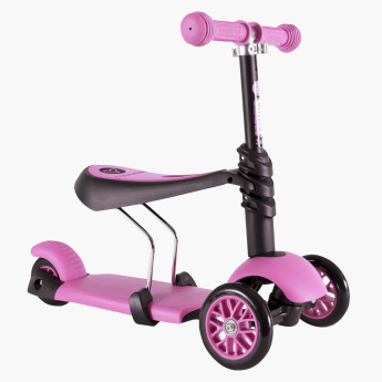 Y Volution YGlider 3-in-1 Scooter