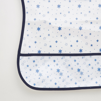Juniors Star Printed Bib
