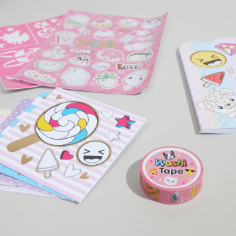 Hot Focus My Secret Colouring Craft Kit - Sugar Rush