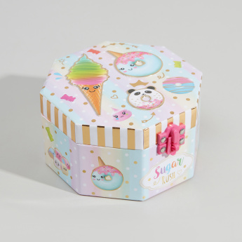 Hot Focus Sugar Rush Octagon Musical Jewellery Box