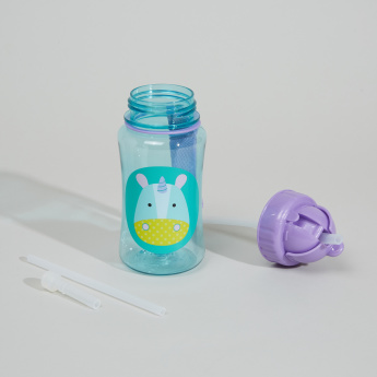 Skip Hop Unicorn Printed Straw Bottle