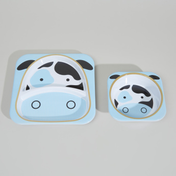 Skip Hop Printed Plate and Bowl Set