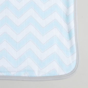 SwaddleDesigns Printed Muslin Luxe Blanket