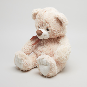 Juniors Plush Teddy Bear Toy with Bow Detail