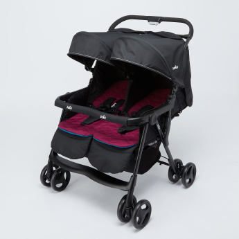 Joie Aire Twin Baby Stroller with Swivel Wheels