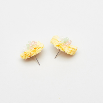 Charmz Floral Embellished Earrings