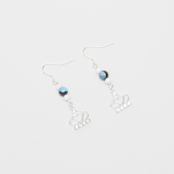 Charmz Embellished Dangling Earrings with Fish Hook