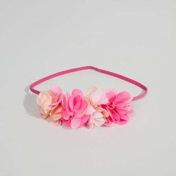Charmz Floral Embellished Hair Band