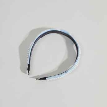 Charmz Pearl Detail Hair Band