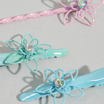 Charmz Floral Embellished Hair Accessory Set