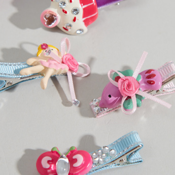 Charmz 5-Piece Duckbill Hair Clips