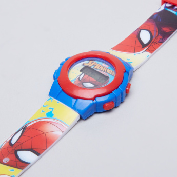 Spider-Man Printed Digital Wristwatch