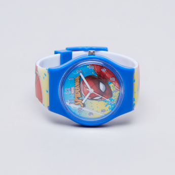 Spider-Man Printed Analogue Wristwatch