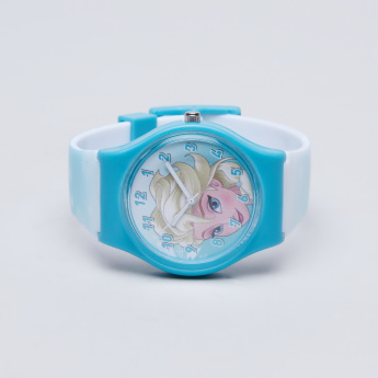Frozen Printed Analogue Wristwatch