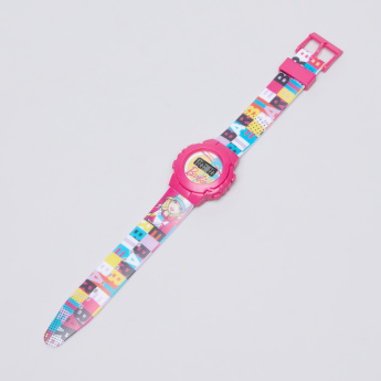 Barbie Printed Digital Wristwatch