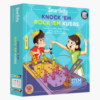 Smartivity Knock 'Em Rock 'Em Kubbs